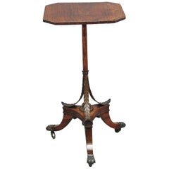 Early 19th Century Rosewood Occasional Table