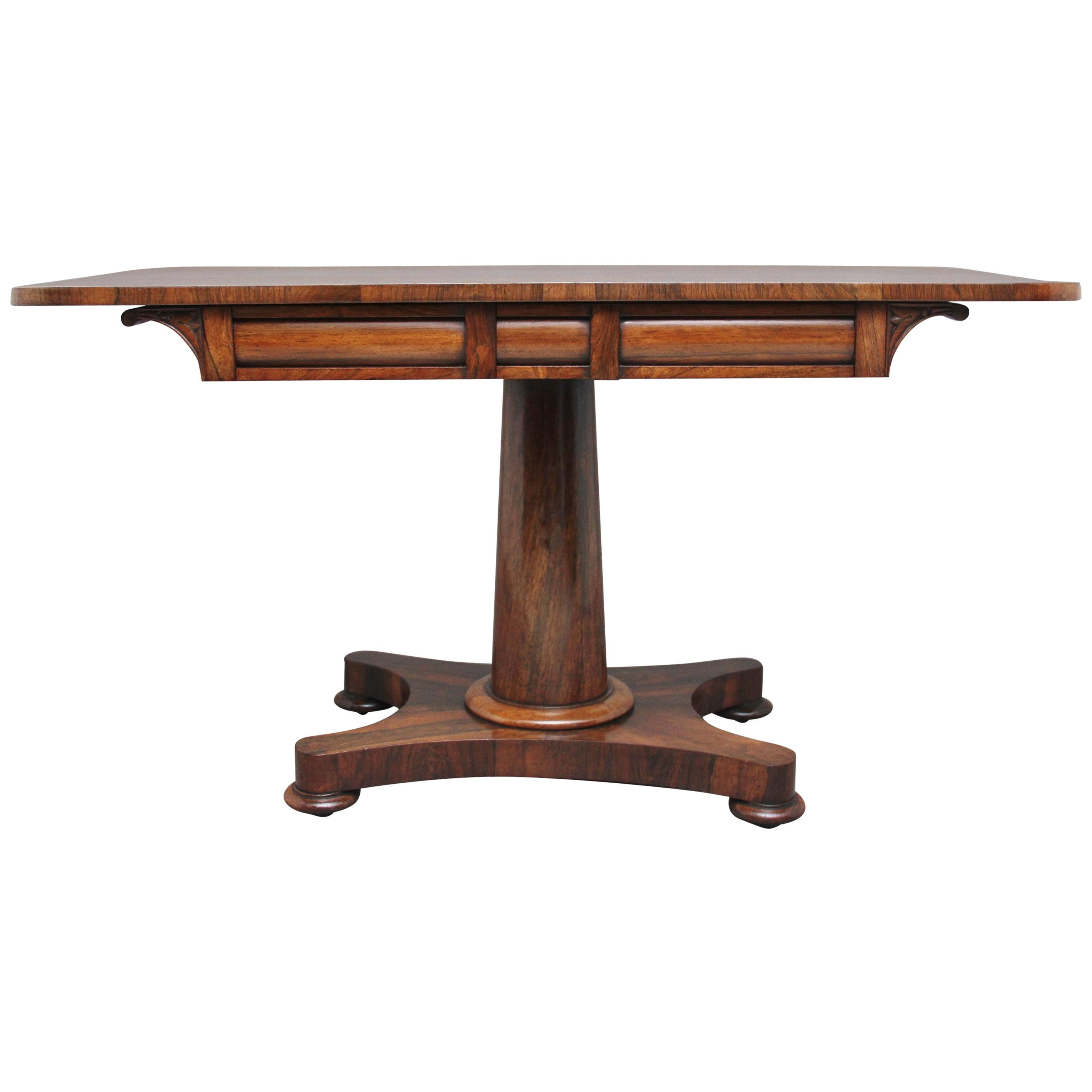 Early 19th Century Rosewood Sofa Table