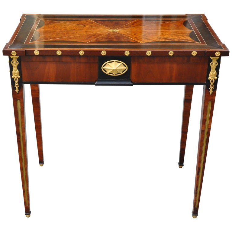 Early 19th Century Russian Neoclassical Table by Heinrich Gambs For Sale