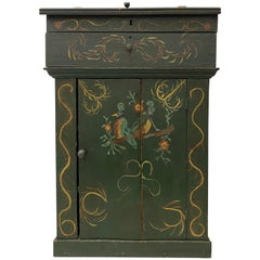 Early 19th Century Scandinavian Painted Cabinet