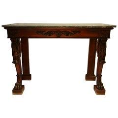 Early 19th Century Scottish Mahogany Console Table