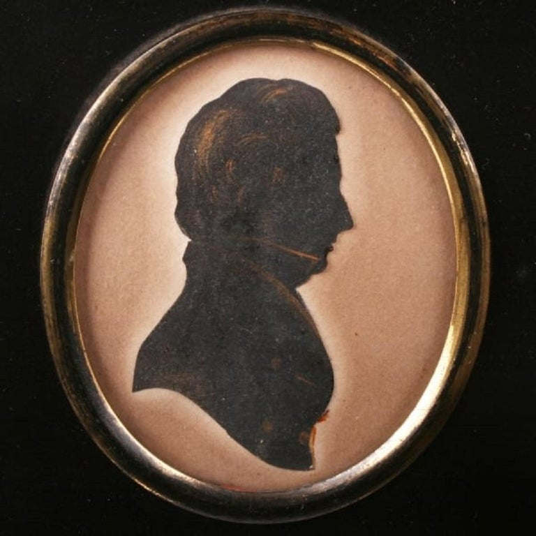 European Early 19th Century Silhouette For Sale