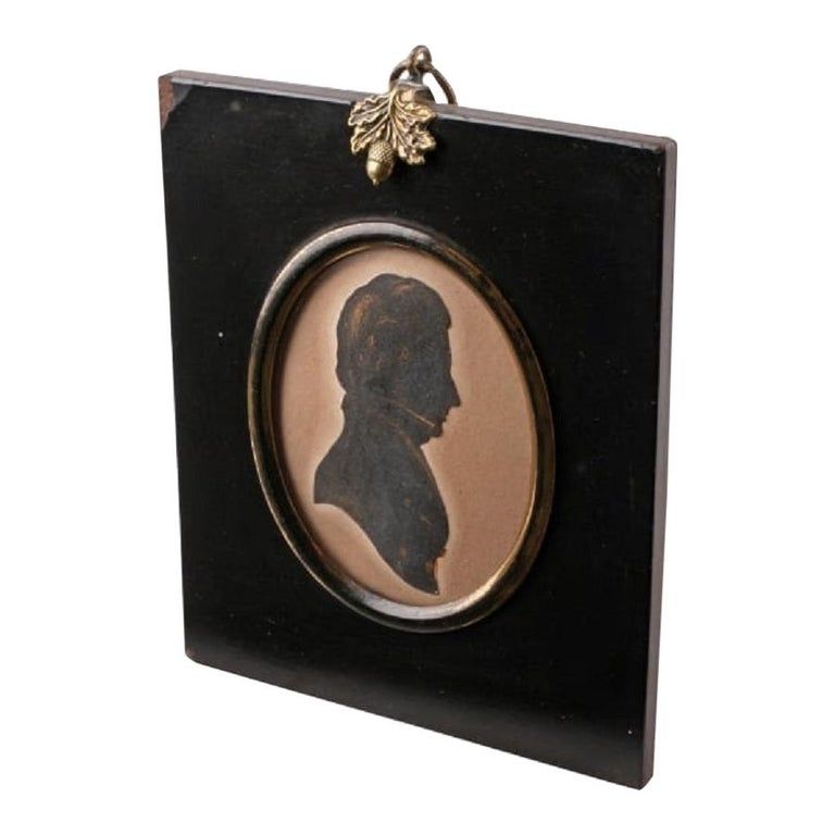 Early 19th Century Silhouette For Sale