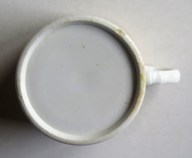 Early 19th Century Spode Porcelain Coffee Can Hand Gilded Pattern 1099, Ca 1810 For Sale 10