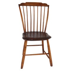Early 19th C Step Down Windsor Chair