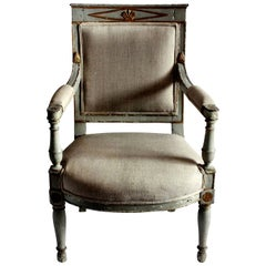 Early 19th Century Swedish Desk Chair