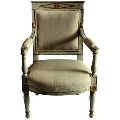 Early 19th Century Swedish Desk Chair