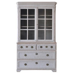 Early 19th Century Swedish Glazed Cabinet