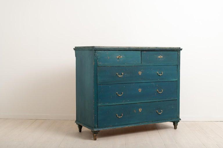 Pine Early 19th Century Swedish Gustavian Bureau For Sale