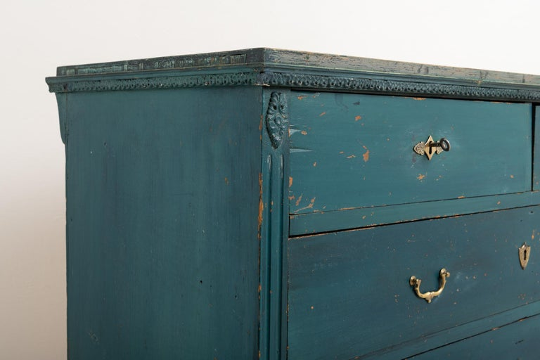 Early 19th Century Swedish Gustavian Bureau For Sale 1