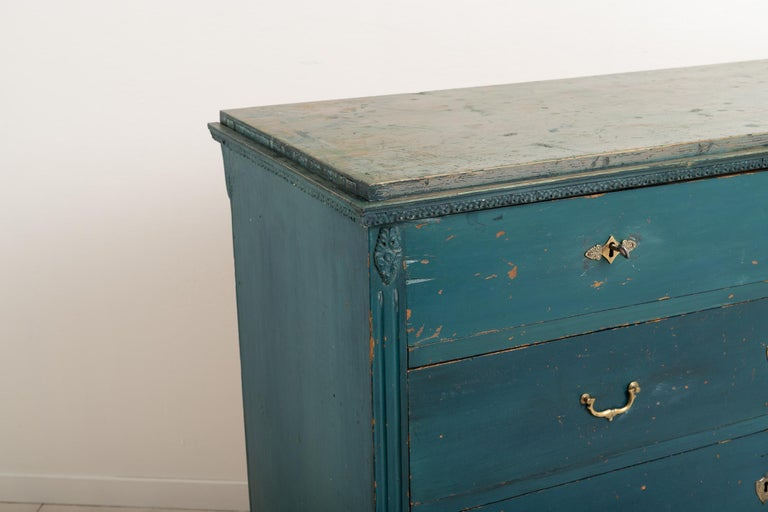 Early 19th Century Swedish Gustavian Bureau For Sale 2