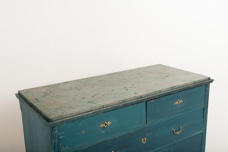 Early 19th Century Swedish Gustavian Bureau For Sale 3