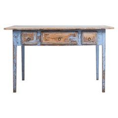 Early 19th Century Swedish Gustavian Painted Table