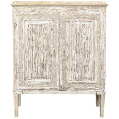 Early 19th Century Swedish Gustavian Period Stockholm Painted Buffet circa 1810
