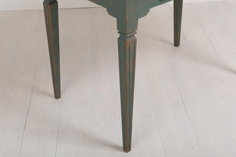 Early 19th Century Swedish Gustavian Side Table For Sale 8