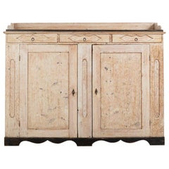 Early 19th Century Swedish Long Sideboard in Empire Style