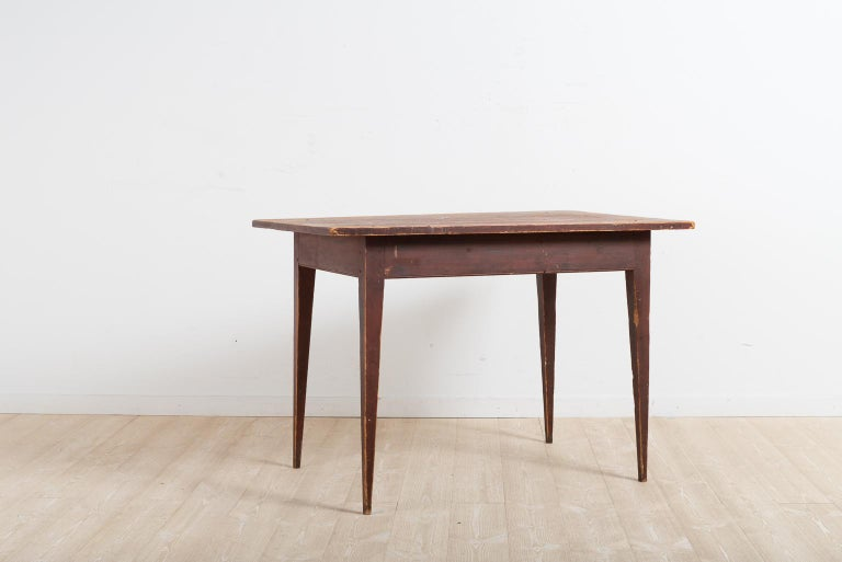 Early 19th Century Swedish Provincial Gustavian Desk In Good Condition For Sale In Kramfors, SE