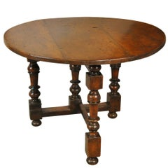 Early 19th Century Table De Vigneron, Wine Tasting Table