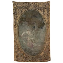 Early 19th Century Tapestry after a Watteau Work
