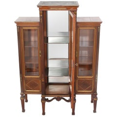 Early 19th Century Three Part French Display Cabinet