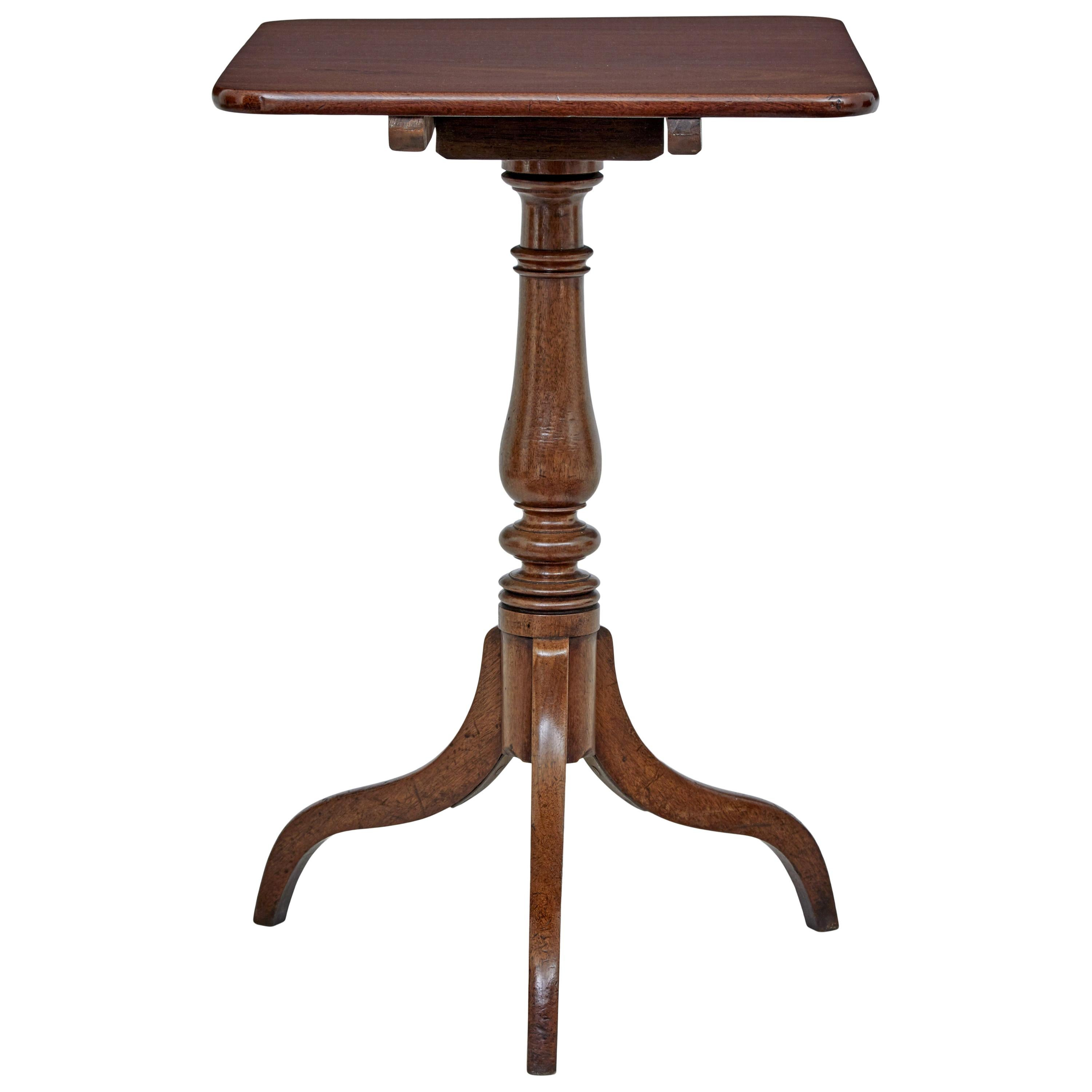 Early 19th Century Tilt-Top Occasional Table