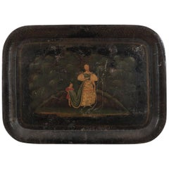 Early 19th Century Toleware Tray