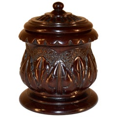 Early 19th Century Treen Jar
