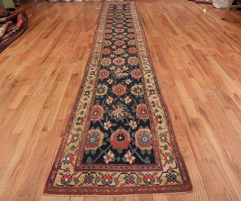 Early 19th Century Tribal Persian Northwest Runner Rug For Sale 6