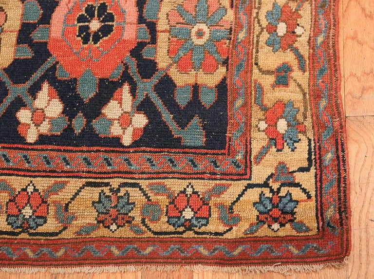 Early 19th Century Tribal Persian Northwest Runner Rug In Excellent Condition For Sale In New York, NY