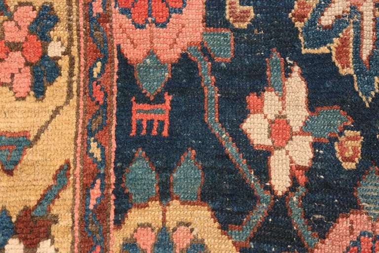 Wool Early 19th Century Tribal Persian Northwest Runner Rug For Sale