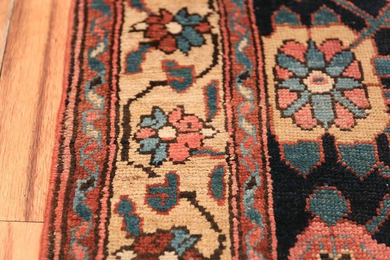 Early 19th Century Tribal Persian Northwest Runner Rug For Sale 1