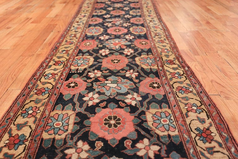 Early 19th Century Tribal Persian Northwest Runner Rug For Sale 2