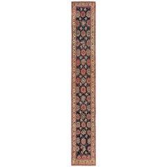 Early 19th Century Tribal Persian Northwest Runner Rug