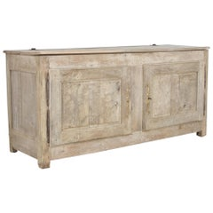 Early 19th Century Two-Door Oak Chest
