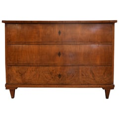 Early 19th Century Walnut Biedermeier Commode