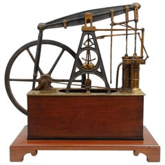 Early 19th Century Watkins and Hill Model Beam Engine