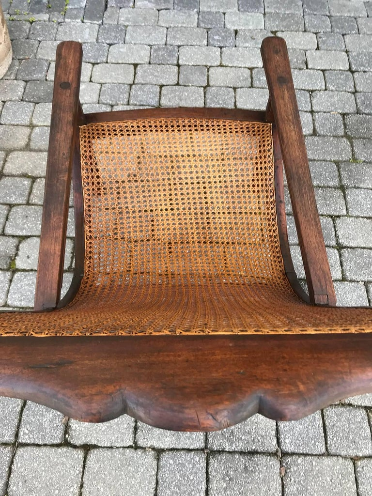 Early 19th Century West Indies Planters Chair For Sale 6