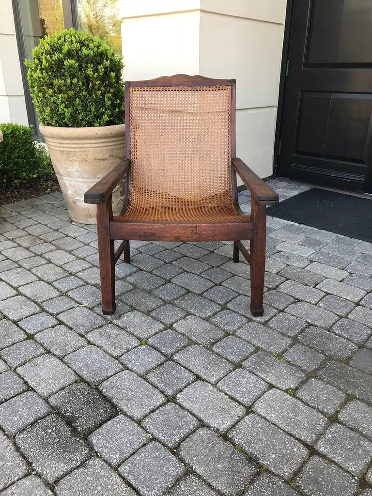 Early 19th Century West Indies Planters Chair For Sale 7