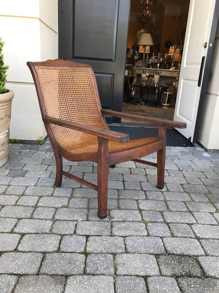 Early 19th Century West Indies Planters Chair For Sale 8