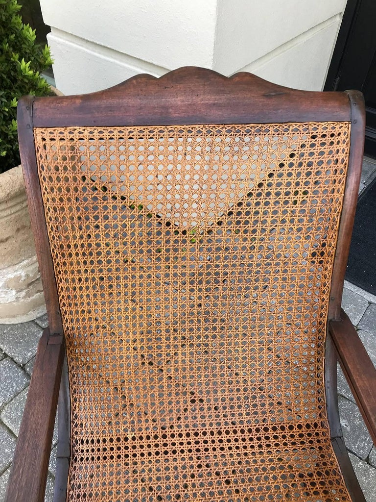 Unknown Early 19th Century West Indies Planters Chair For Sale