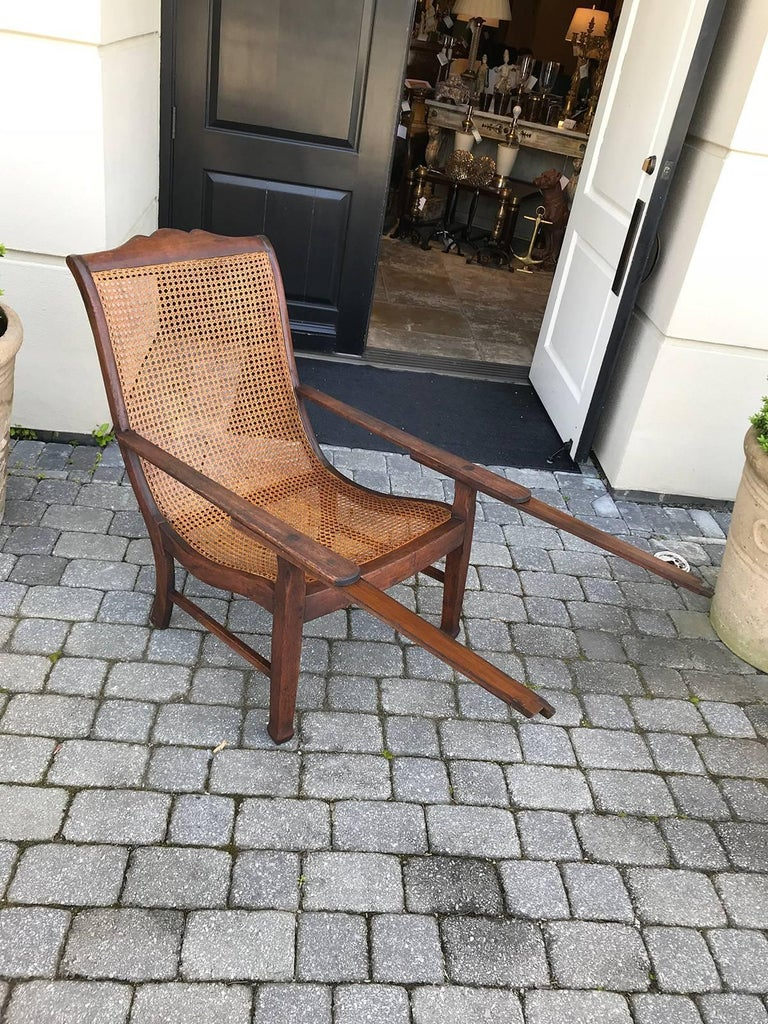 Early 19th Century West Indies Planters Chair For Sale 1