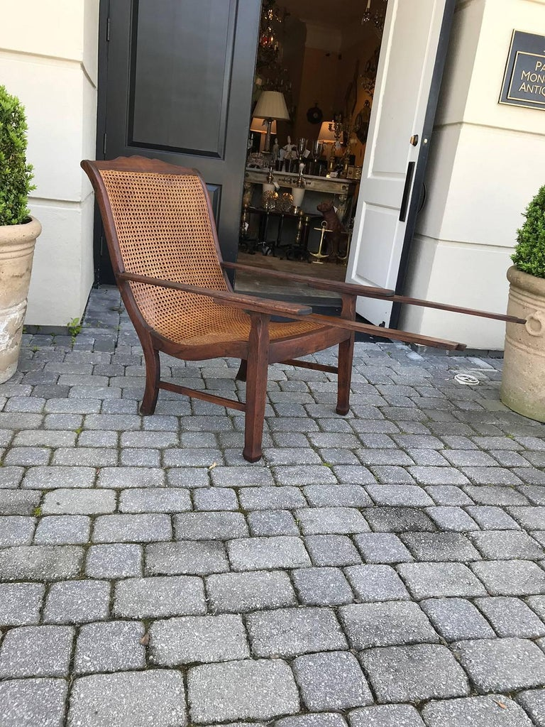 Early 19th Century West Indies Planters Chair For Sale 2