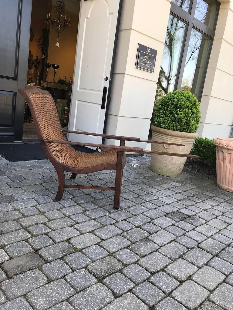 Early 19th Century West Indies Planters Chair For Sale 3