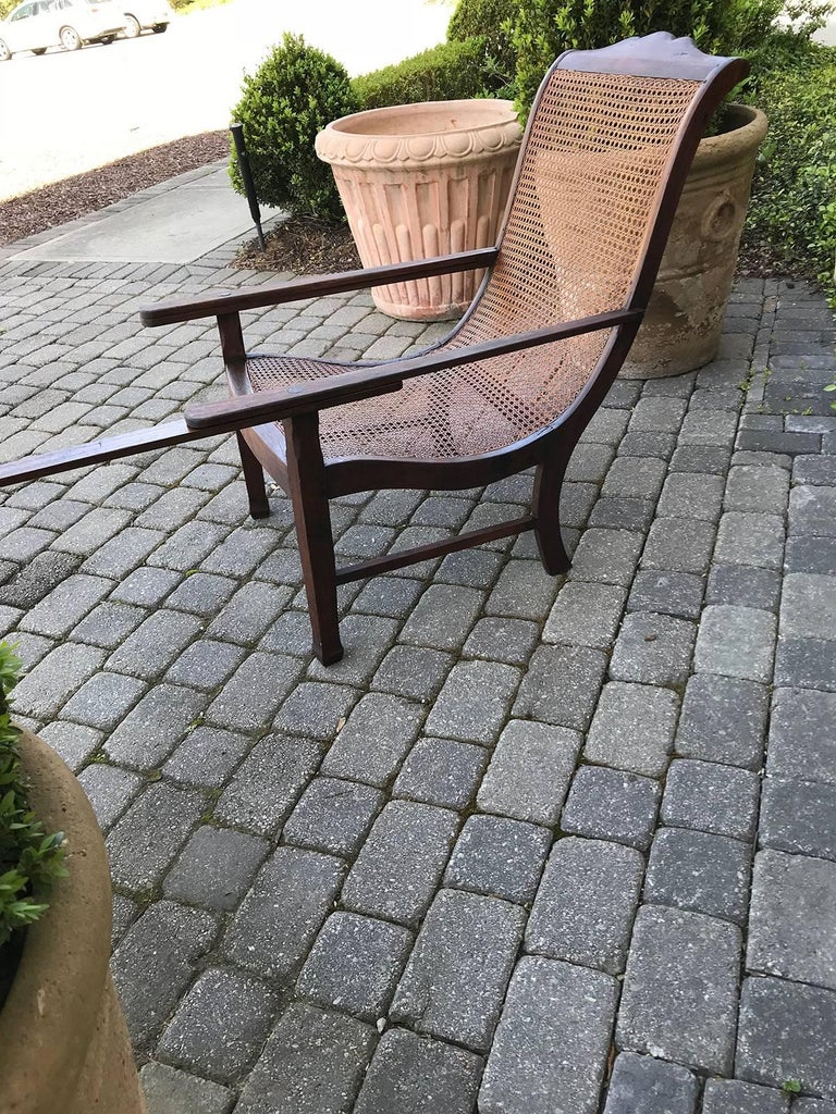 Early 19th Century West Indies Planters Chair For Sale 4