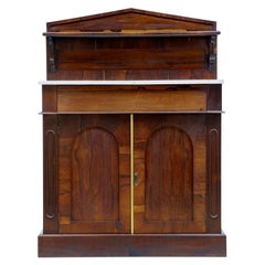 Early 19th Century William IV Palisander Chiffonier Sideboard