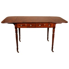 Early 19th Century Writing Desk in Mahogany with Flaps