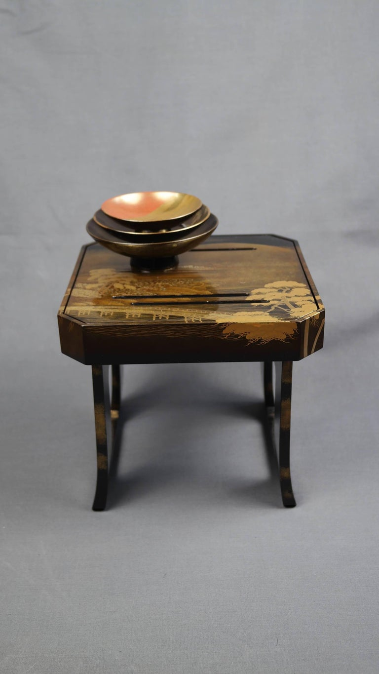 Early 19th Century, Pair of Sake Tables, Edo Period, Art of Japan For Sale 2