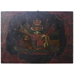 Coach Panel the Order of the Garter Royal Coat of Arms Armorial
