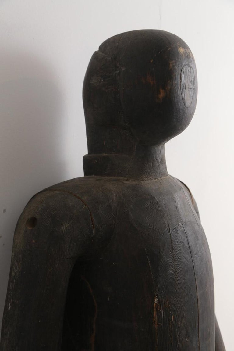 Early 19th century Japanese Life-size Armour display mannequin.We believe that this item was purchased by the French Minister of Arts in 1947 he was a collector of Armour and he had this in his personal collection