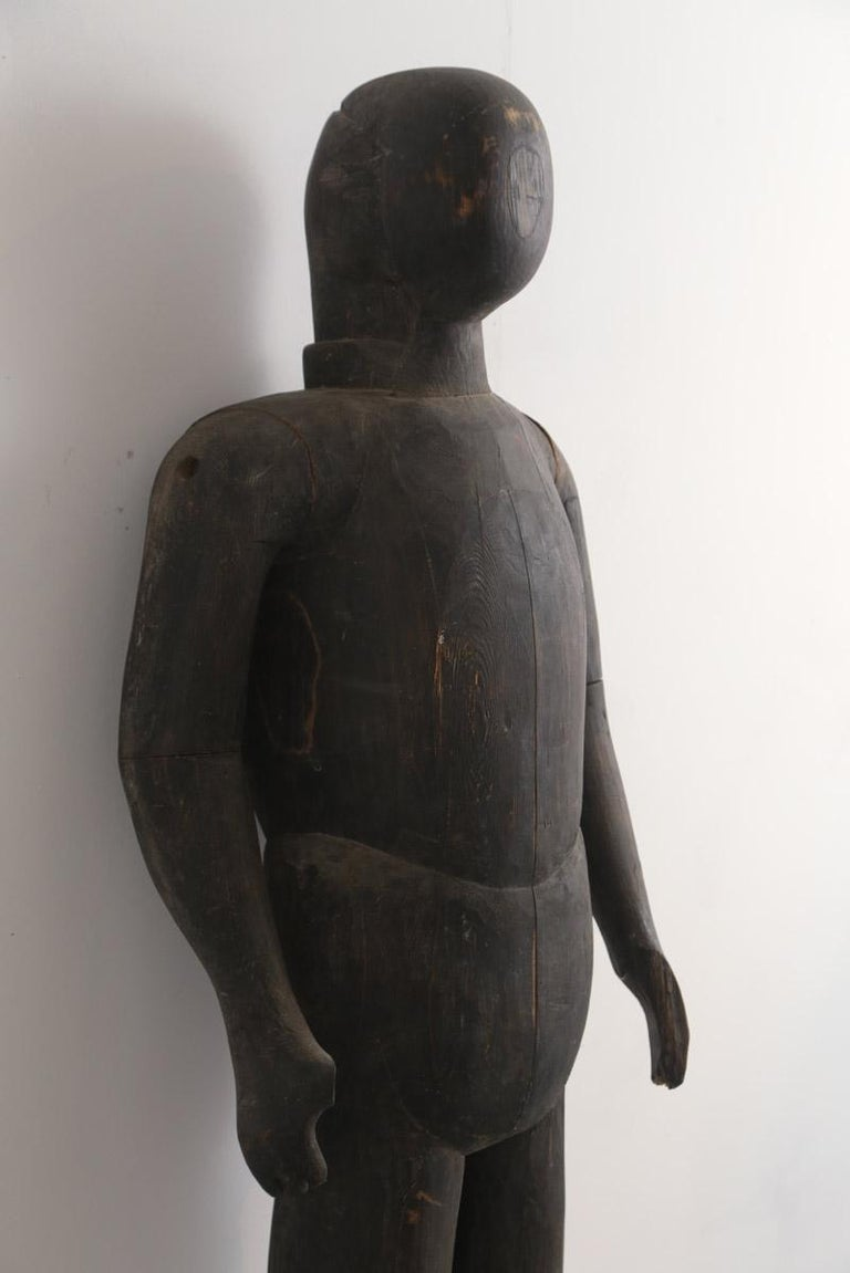 French Early 19th Century Japanese Lifesize Armour Display Mannequin For Sale